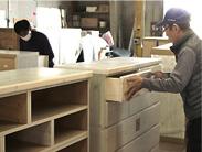 スライドレールの取り付け家具の誕生